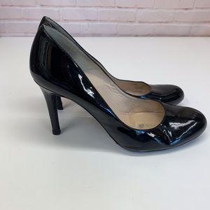 LK Bennett Sledge Classic Platform Heel Black 8.5